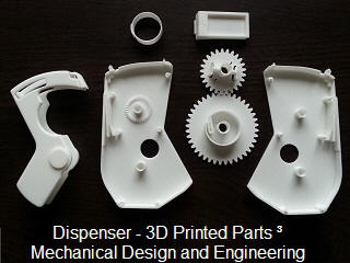 Casette 3D Print Mechanical design and Engineering