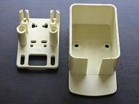 2 piece plastic casing injection moulding